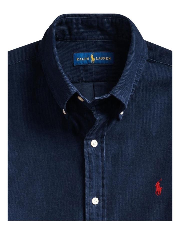 Custom Fit Corduroy Shirt image 5