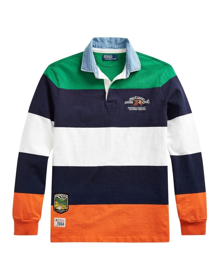 Classic Fit Rugby Shirt image 4