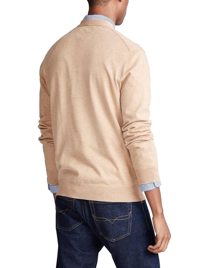 Cotton V-Neck Cardigan image 2