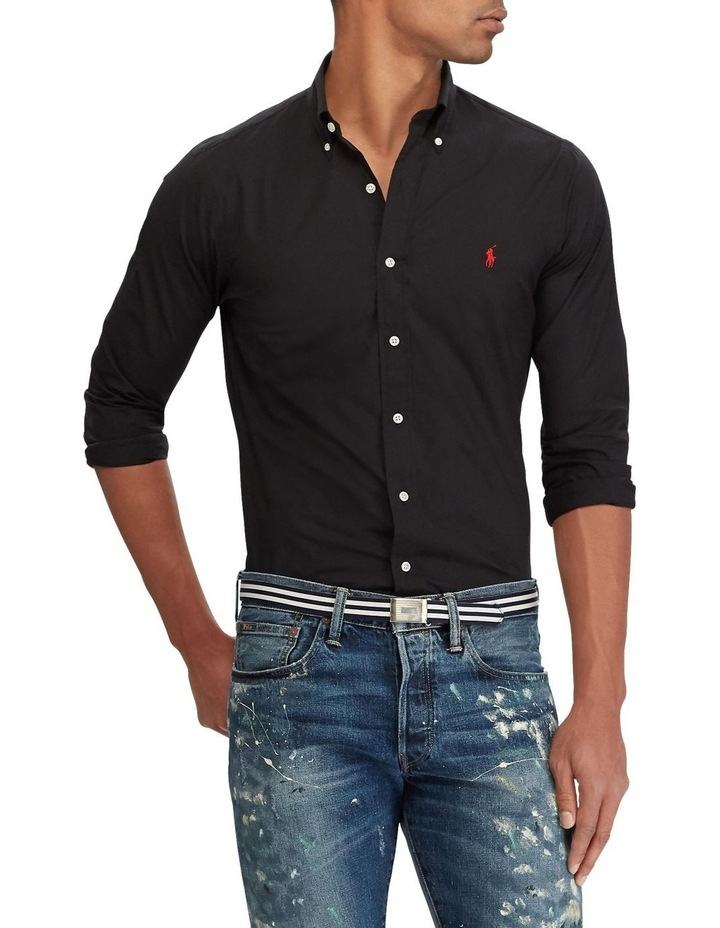 Classic Fit Poplin Shirt image 1