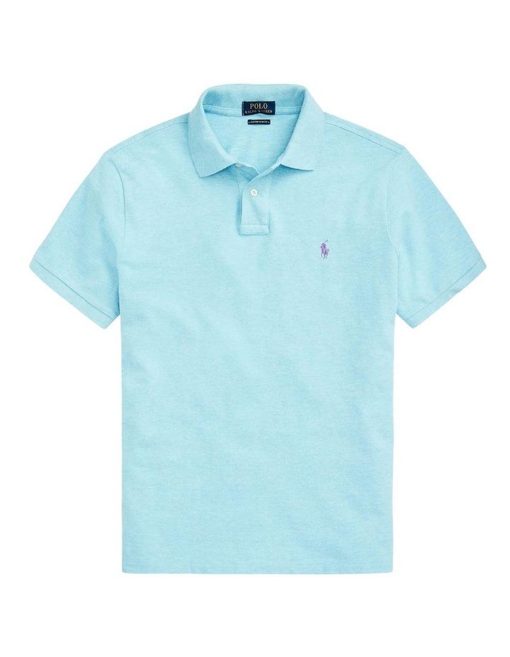 Custom Slim Fit Mesh Polo Shirt image 4