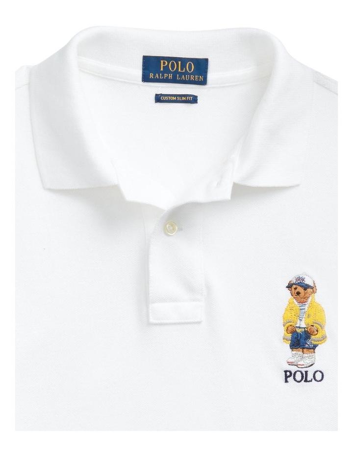 Custom Slim Fit Polo Bear Polo Shirt image 5