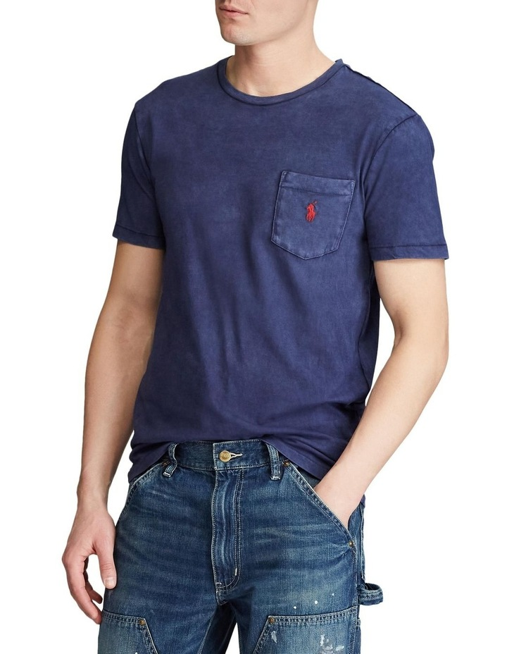 Custom Slim Fit Jersey Pocket T-Shirt image 1