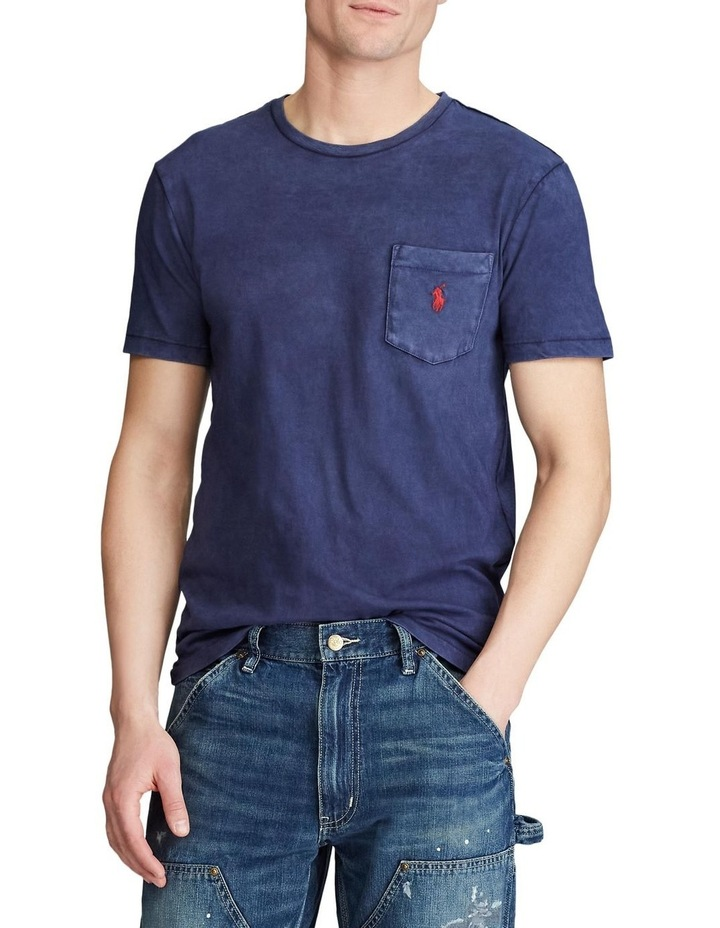 Custom Slim Fit Jersey Pocket T-Shirt image 2