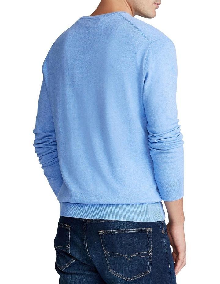 Cotton V-Neck Sweater image 2