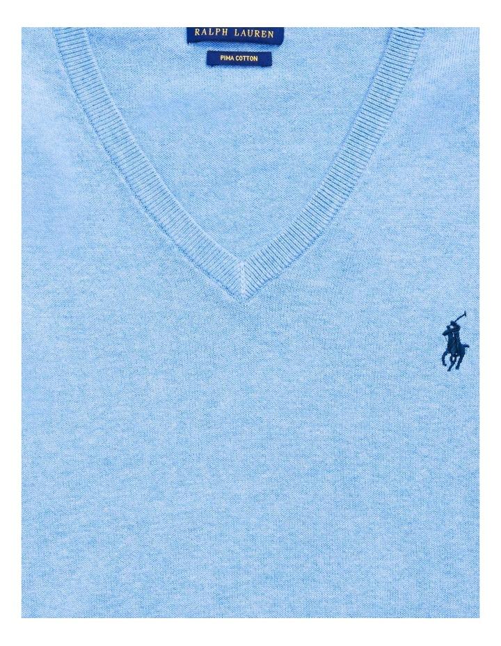 Cotton V-Neck Sweater image 5
