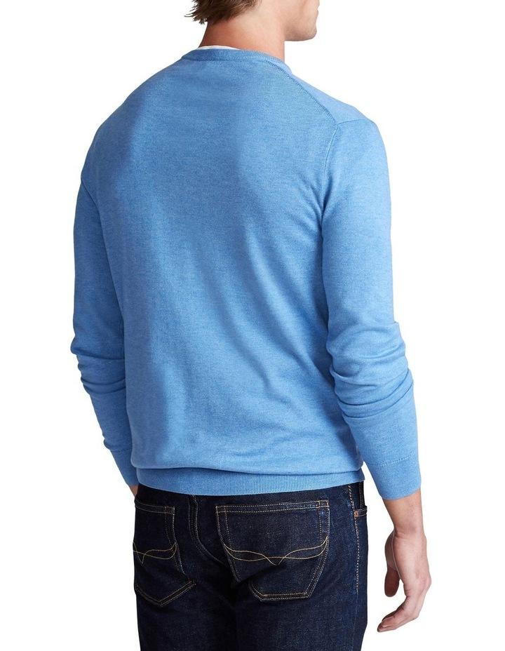 Slim Fit Cotton Crewneck Sweater image 2