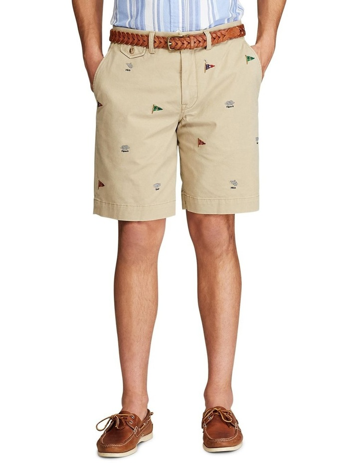 Classic Fit Embroidered Short image 3