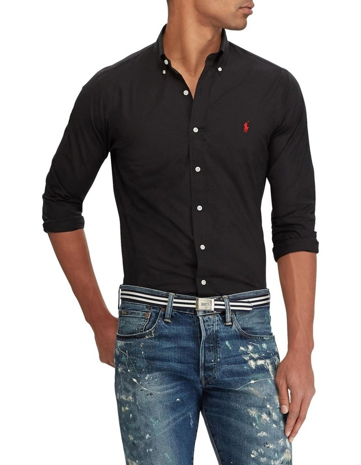 Slim Fit Poplin Shirt image 1