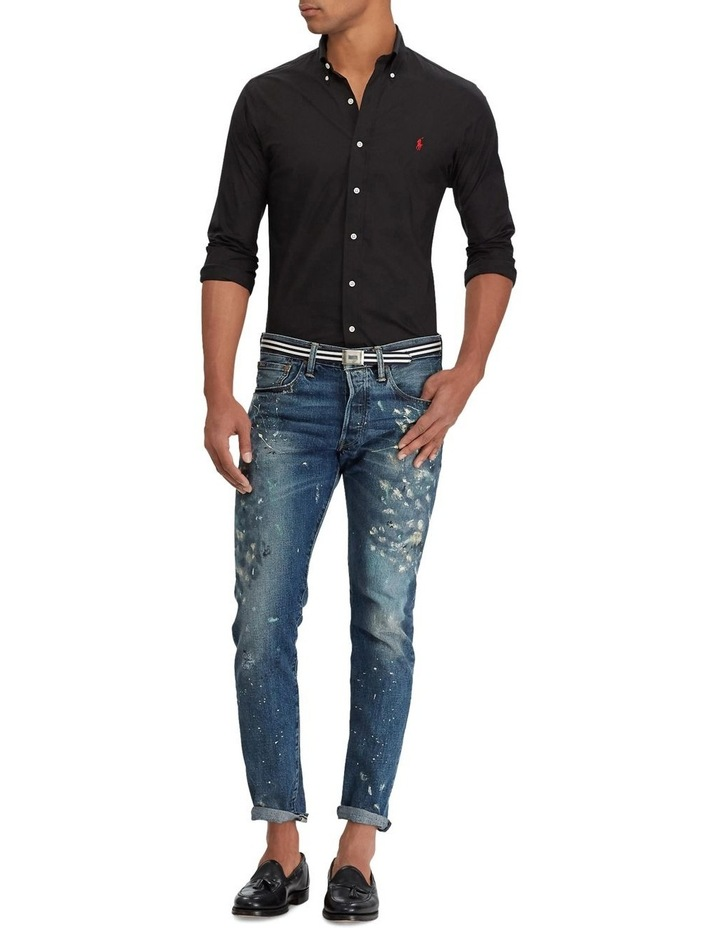 Slim Fit Poplin Shirt image 3