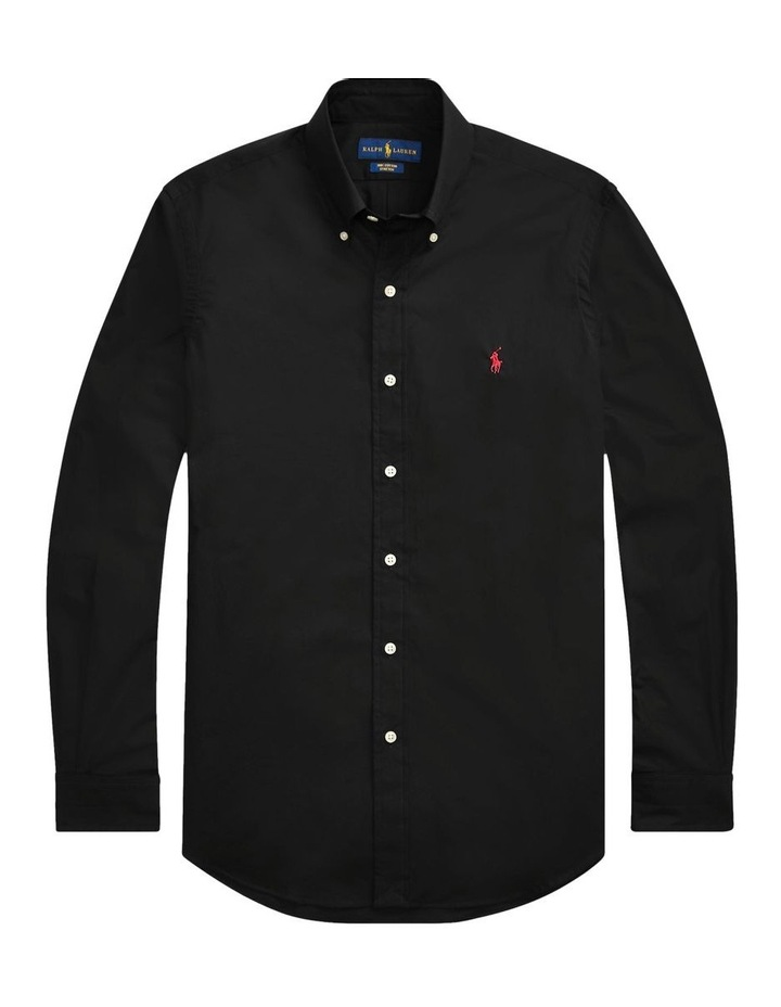Slim Fit Poplin Shirt image 4