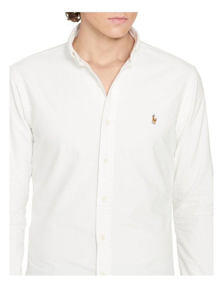Slim Fit Oxford Shirt image 4