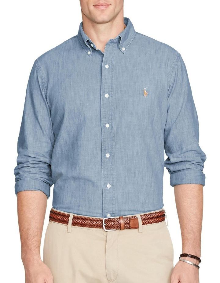 Classic Fit Chambray Shirt image 1