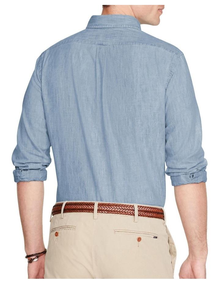 Classic Fit Chambray Shirt image 2