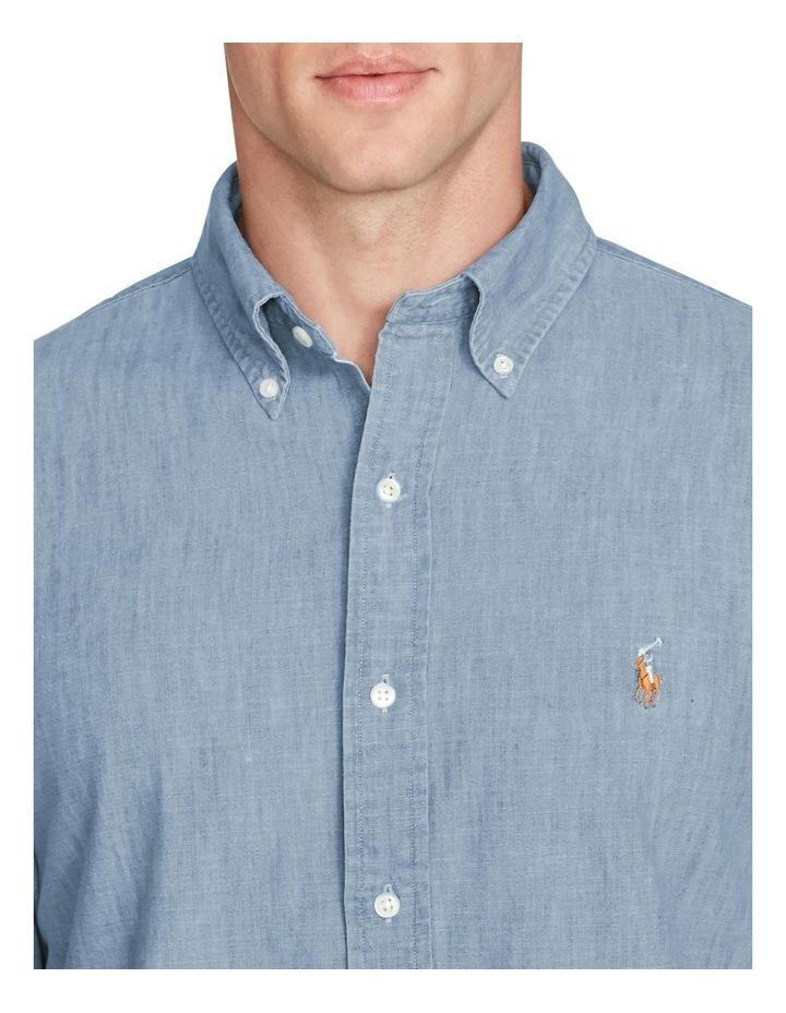 Classic Fit Chambray Shirt image 5