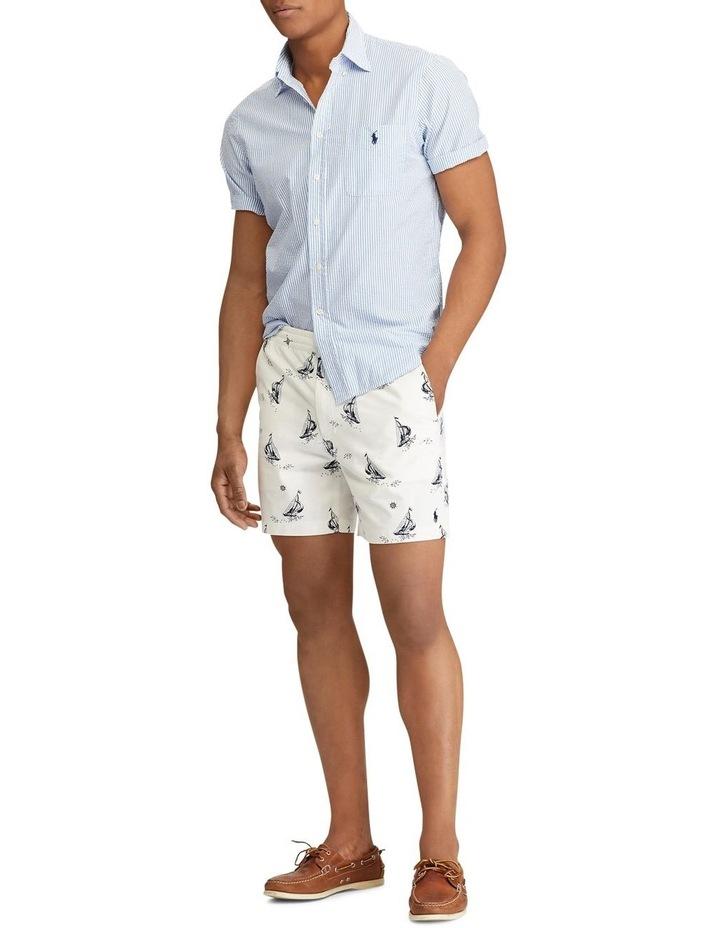 Classic Fit Seersucker Shirt image 3