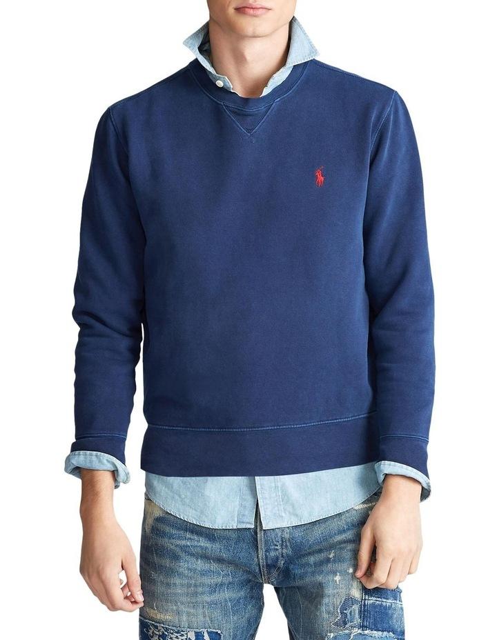 Garment-Dyed Fleece Sweatshirt image 1