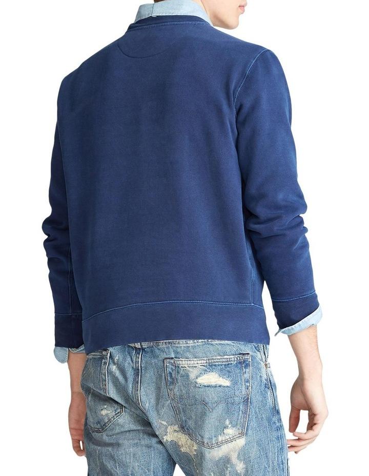 Garment-Dyed Fleece Sweatshirt image 2