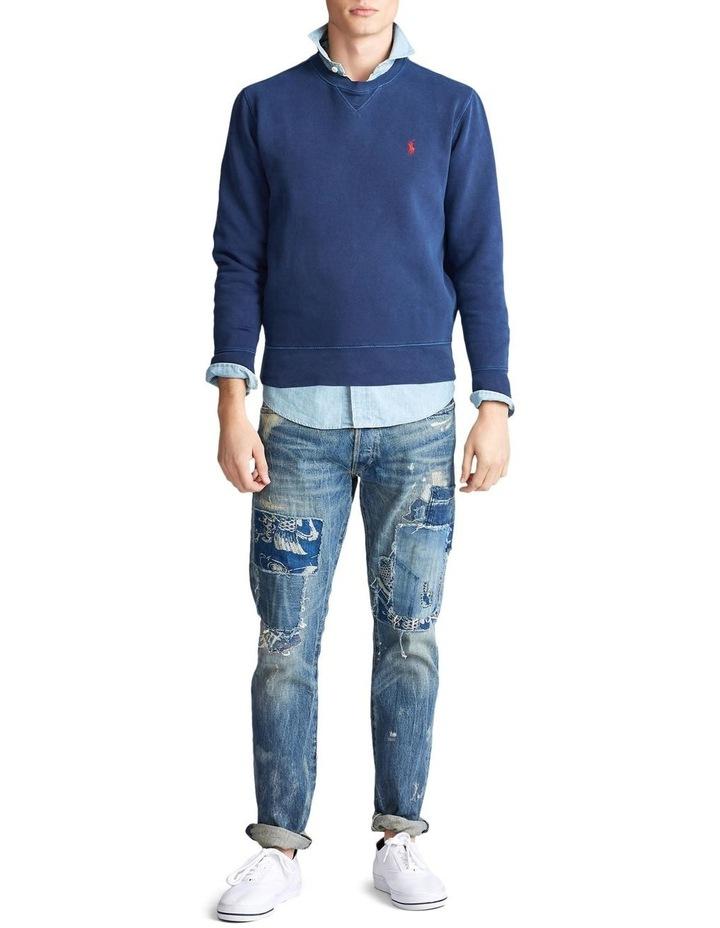 Garment-Dyed Fleece Sweatshirt image 3