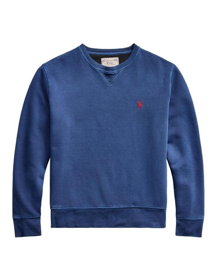 Garment-Dyed Fleece Sweatshirt image 4