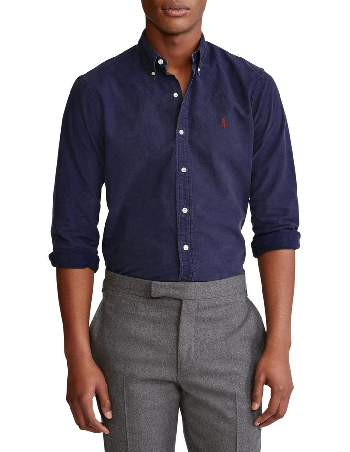 Classic Fit Garment-Dyed Oxford Shirt image 1