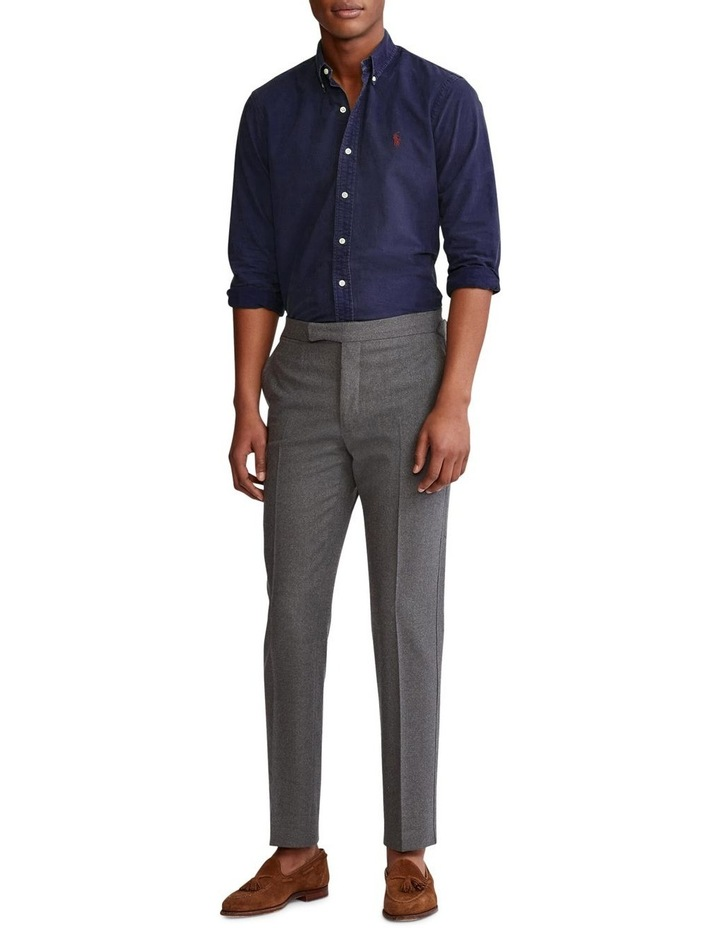 Classic Fit Garment-Dyed Oxford Shirt image 3
