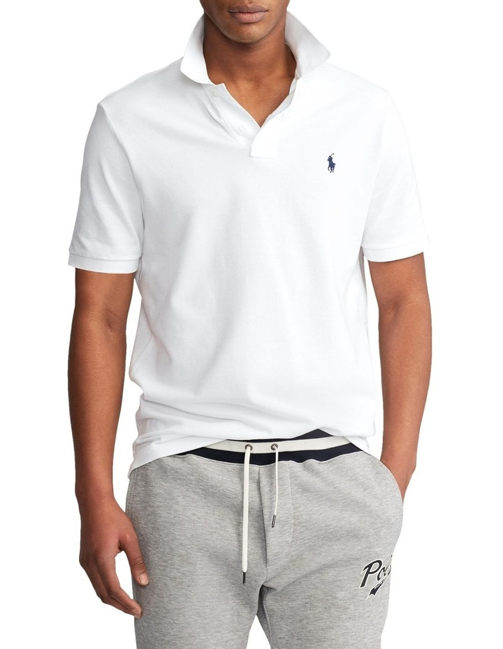 Classic Fit Mesh Polo Shirt image 1