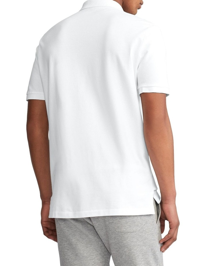 Classic Fit Mesh Polo Shirt image 2