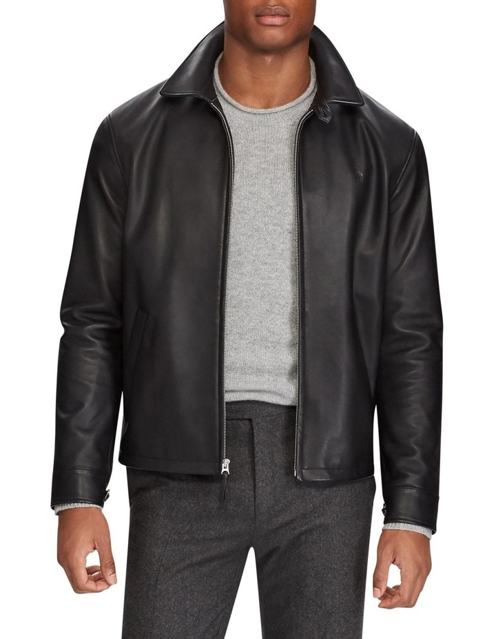 Lambskin Leather Jacket image 1