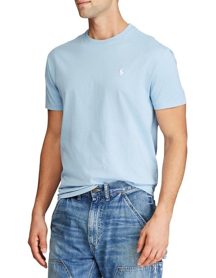 Custom Slim Fit Jersey Crewneck T-Shirt image 2