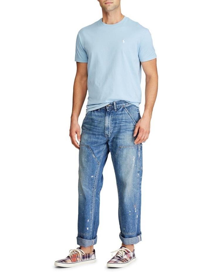 Custom Slim Fit Jersey Crewneck T-Shirt image 4