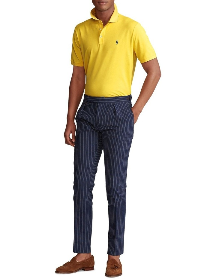 Custom Slim Stretch Mesh Polo image 3
