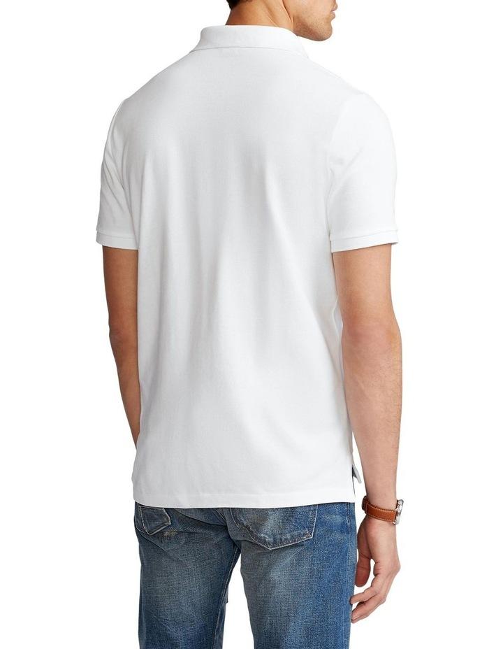 Custom Slim Fit Mesh Polo Shirt image 2
