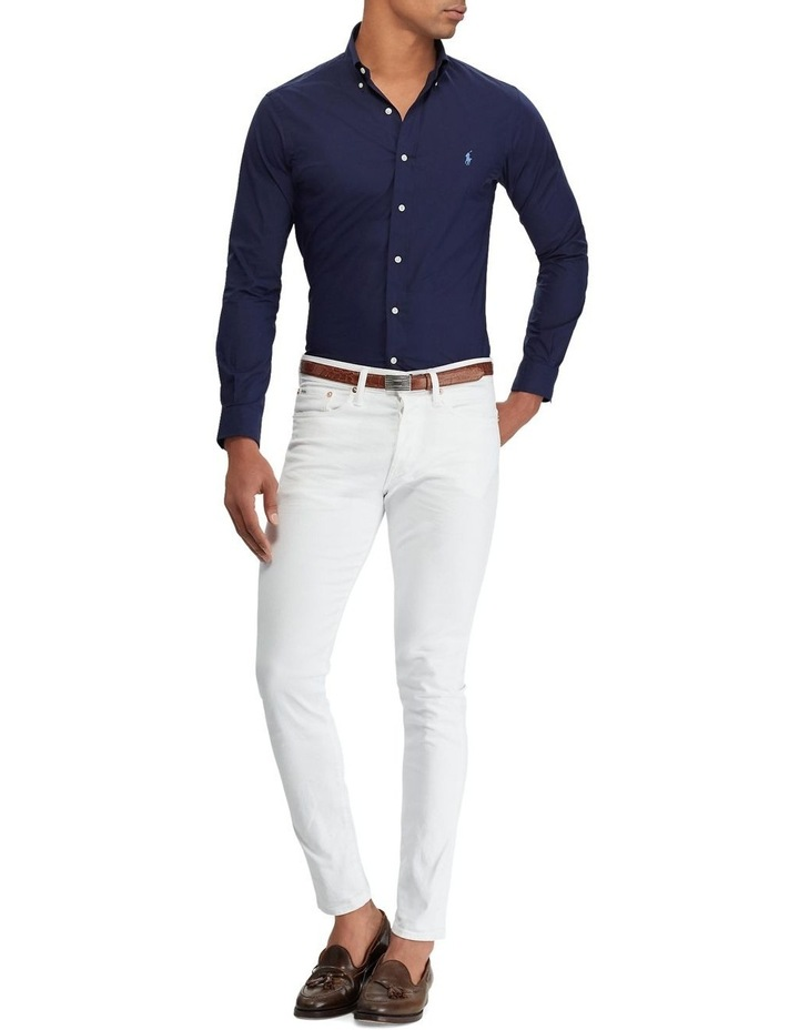 Slim Fit Poplin Shirt image 3