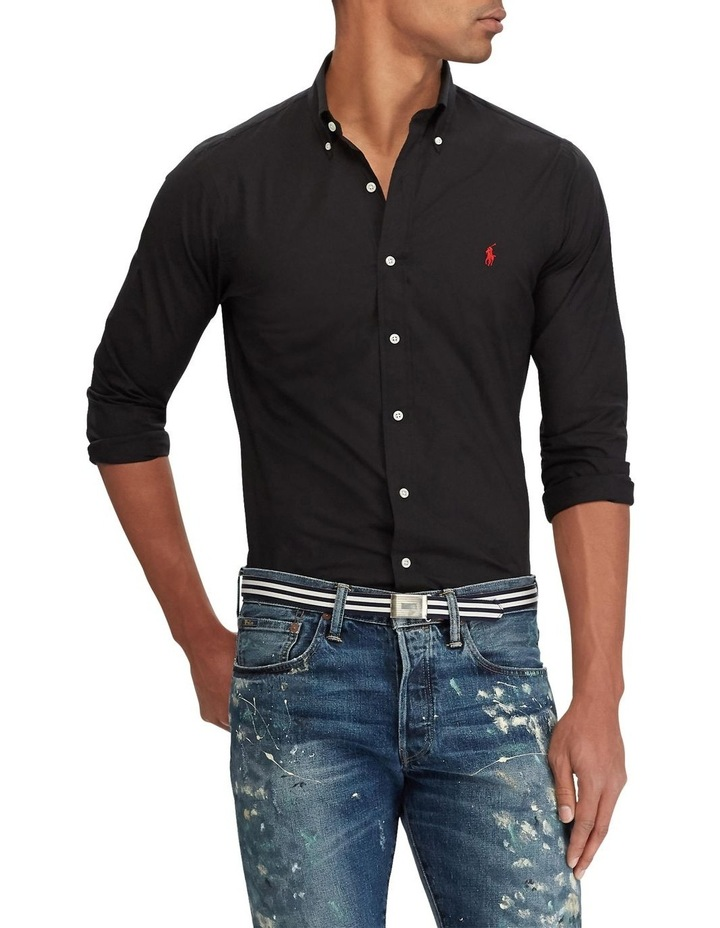 Slim Fit Poplin Shirt image 1