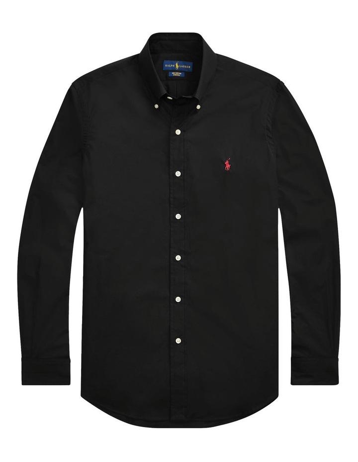 Slim Fit Poplin Shirt image 4