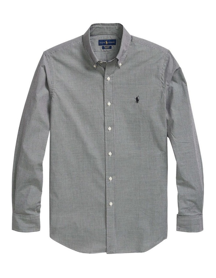 Classic Fit Checked Shirt image 1