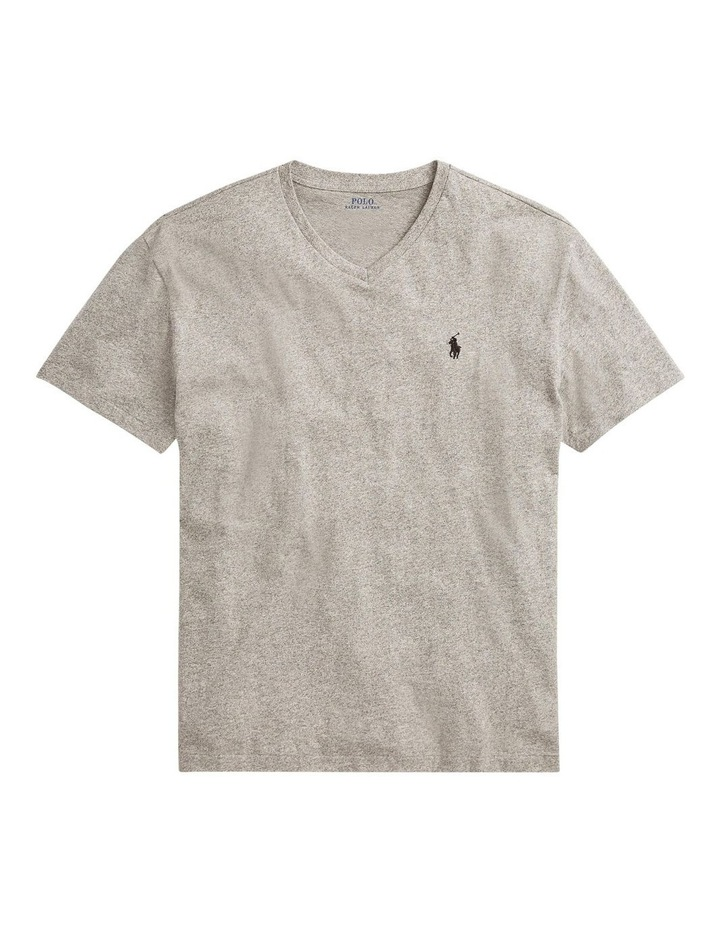 Classic Fit Jersey V-Neck T-Shirt image 4