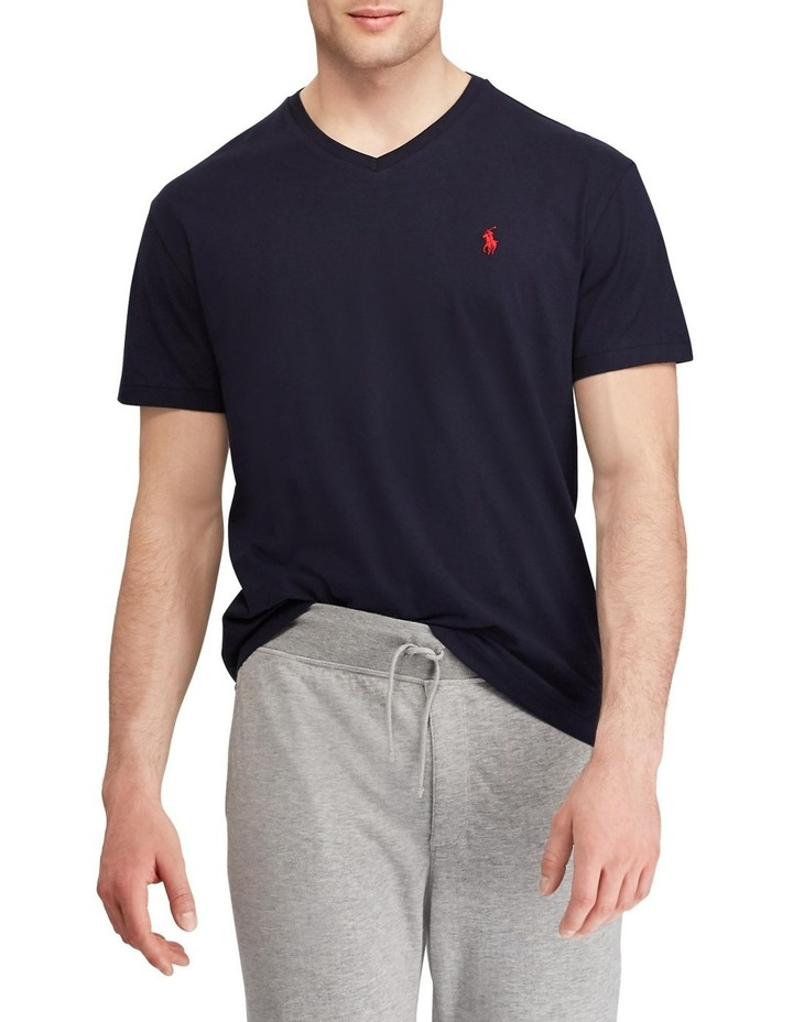 Classic Fit Jersey V-Neck T-Shirt image 1