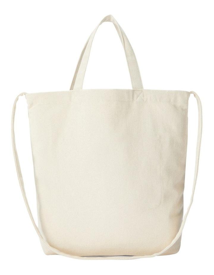 Cotton Logo Graphic Shopper Tote image 2