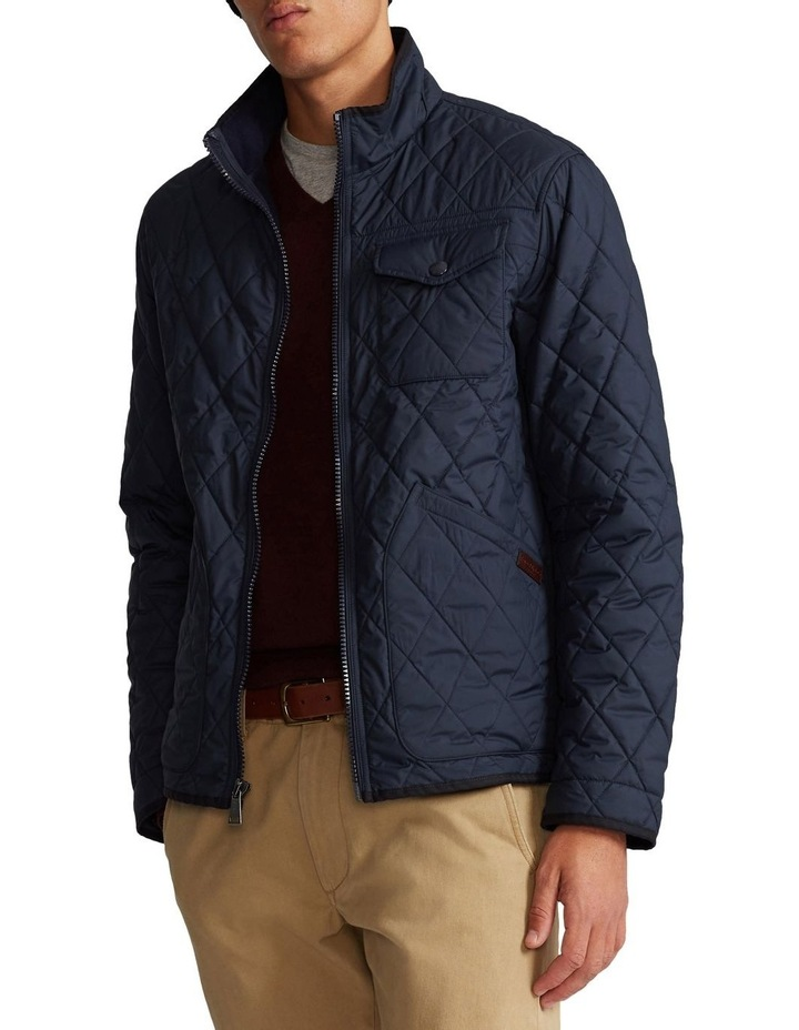 Water-Repellent Quilted Jacket image 1