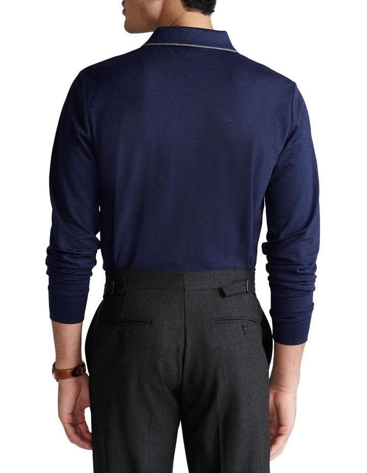Custom Slim Stretch Mesh Polo image 2