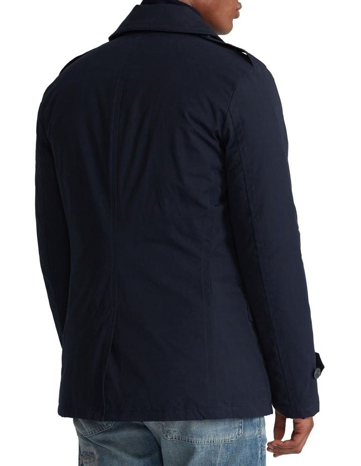 Down-Filled Twill Peacoat image 2