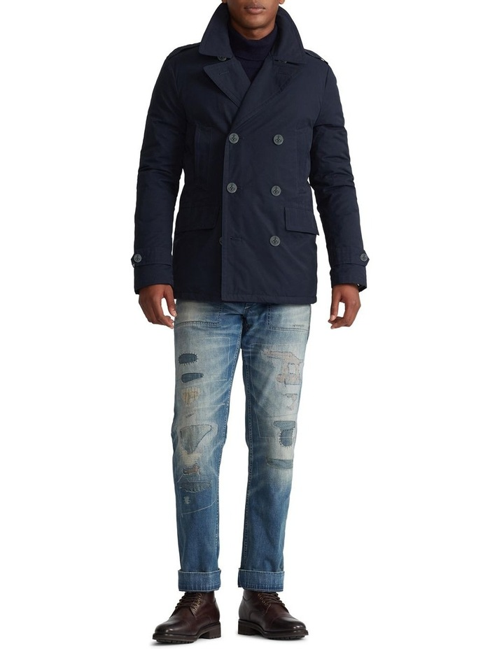 Down-Filled Twill Peacoat image 3