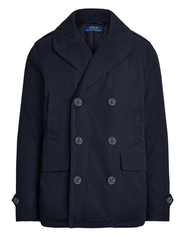 Down-Filled Twill Peacoat image 4