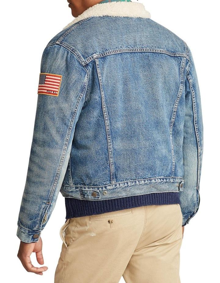 Fleece-Lined Denim Jacket image 2
