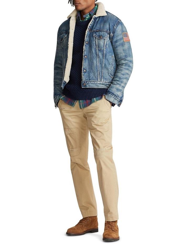 Fleece-Lined Denim Jacket image 3