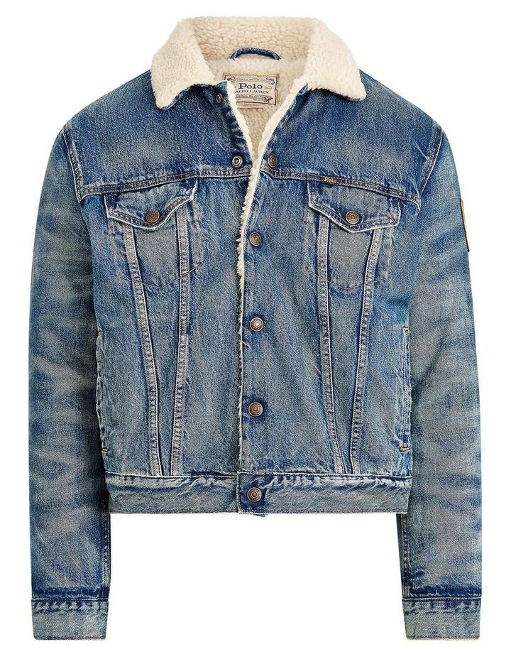 Fleece-Lined Denim Jacket image 4