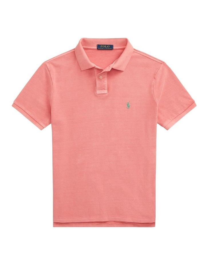 Custom Slim Fit Mesh Polo Shirt image 5