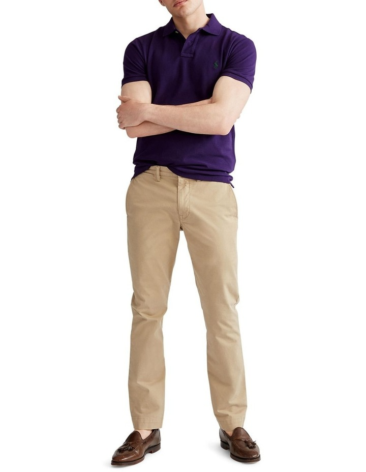 Classic Fit Mesh Polo Shirt image 3